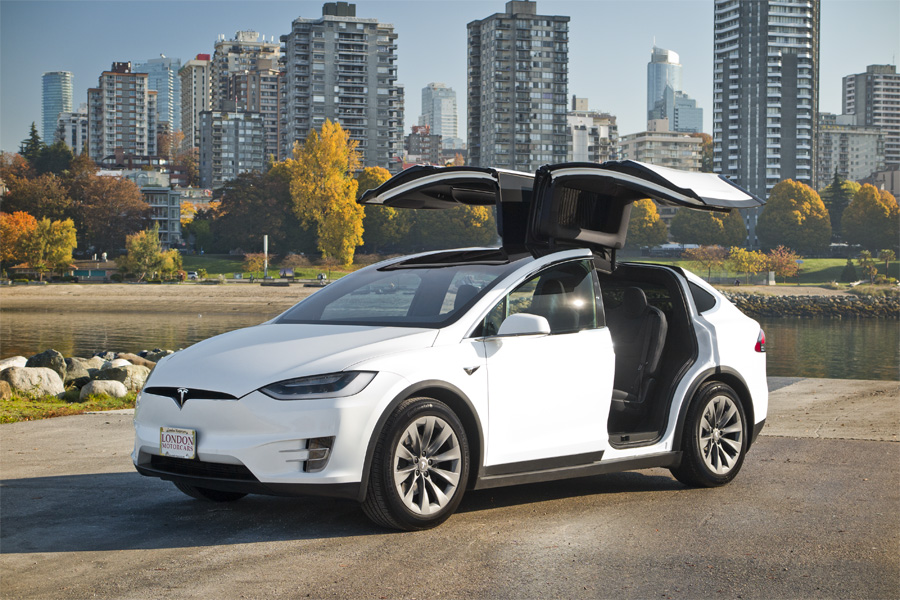 Tesla 2018 Model X 75d London Motorcars